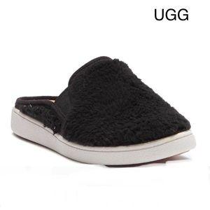 Luci UGGpure(TM) Wool Slip-On Mule:  black